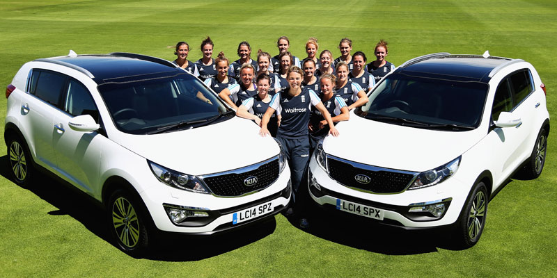 Kia England Women's Cricket team