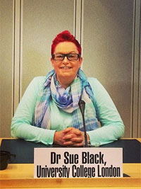 Dr Sue Black