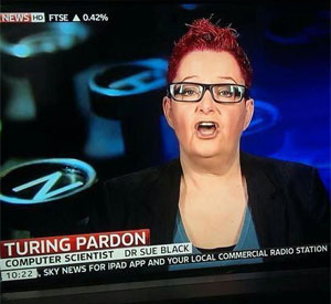 Dr Sue Black on Sky News