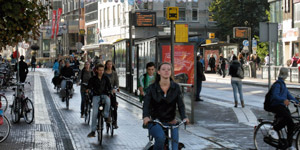 Cycling in Manchester