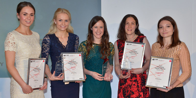 IET Young Woman Engineer finalists 2015