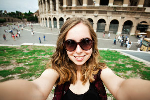 Rome selfie
