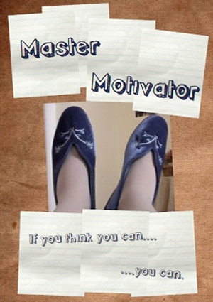 Master Motivator - copyright Bag Lady Productions