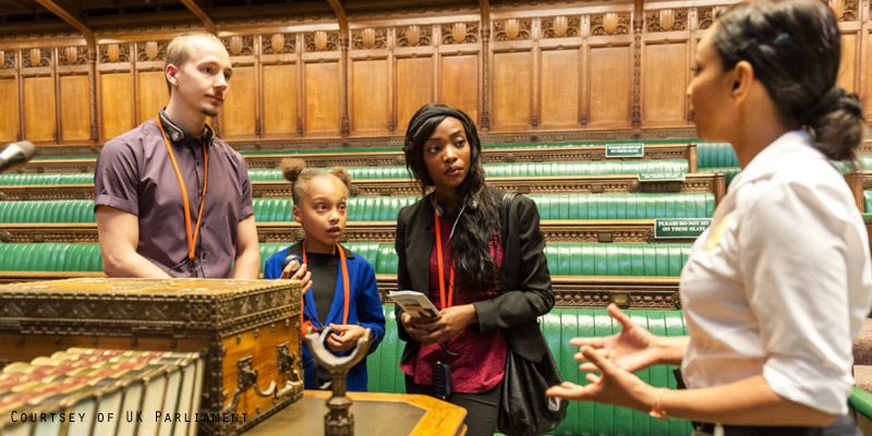 Parliament tours