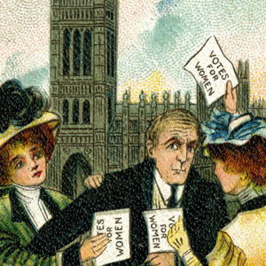 Suffragette-Postcard-This-is-the-Minister