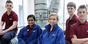 British Airways engineering apprentices