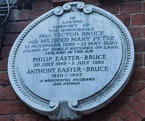 Mary Petre Bruce memorial