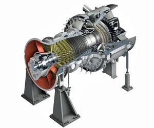 Siemens turbine drawing