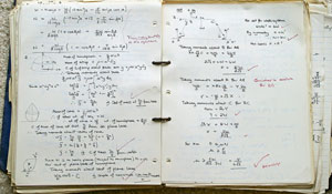 Maths homework marking