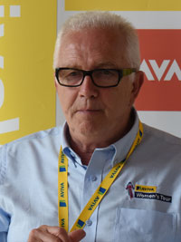 Mick Bennett - Race Director for the Aviva Women's Tour