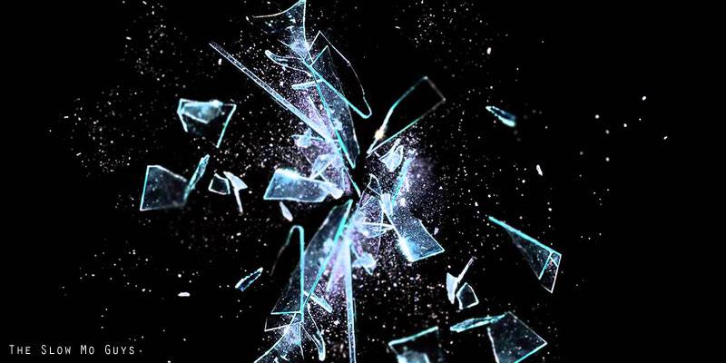 Shattering-glass