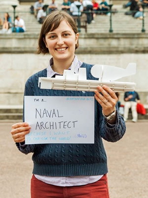 Lucy Collins - Naval Architect