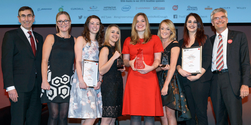 IET Young Woman Engineer of the Year Awards 2016