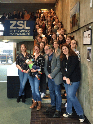 London 2016 Soapbox Science training workshop at ZSL