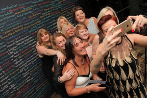 Northern Power Women Awards selfies