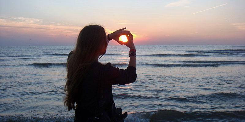 Catching-the-sun