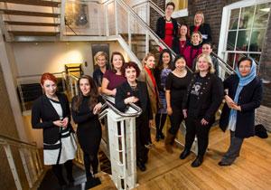 Women in Innovation award winners November 2016