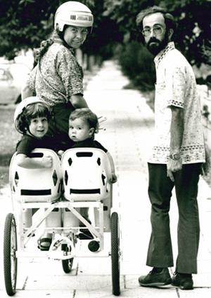 Professor Cheryl Praeger family photo