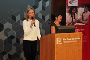 Rachel Riley - Further Mathematics Support Programme event