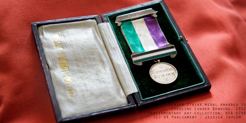 Suffragette medal