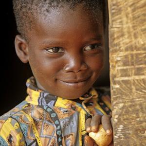 Ghanain boy