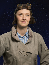 Amanda Quaid as Jerrie Cobb in They Promised Her the Moon