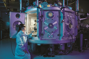 Female physicist