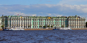 State Hermitage in Saint Petersburg, Russia