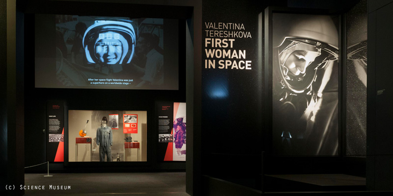 Valentina Tereshkova - First Woman in Space exhibition at the Science Museum in London