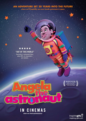 Angela the Astronaut - RedrawTheBalance
