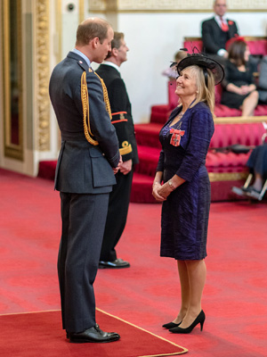 Anna Campbell MBE