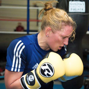 Stacey Copeland - Boxer