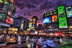 Yonge and Dundus Square - Toronto