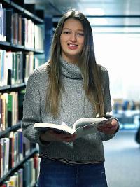 Claire Doherty - Amazon Women in Innovation Bursary recipient