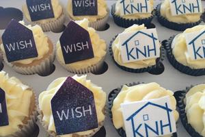 WISH Yorkshire and Humber cupcakes