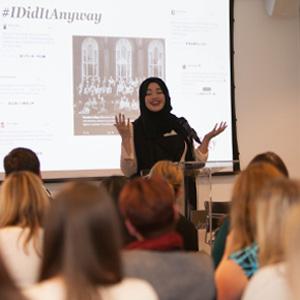 Fatima Benkhaled - Amazon Women in Innovation Bursary recipient