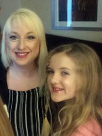 Sarah Lockey and Tilly Lockey