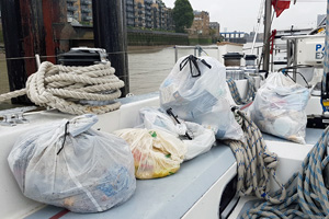Thames-rubbish---Emily-Penn---eXXpedition