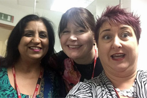 Sameena-Choudry Hannah-Wilson-and-Keziah-Featherstone