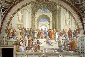 The School of Athens - Raffaello Sanzio da Urbino