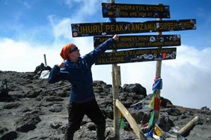 Dr Lauren-Cable - Kilimanjaro