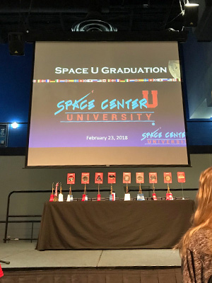 Space Center University Graduation