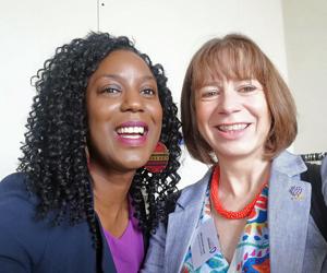 Yewande-Akinola-and-Dawn-Bonfield