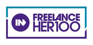 FreelanceHER 100 logo