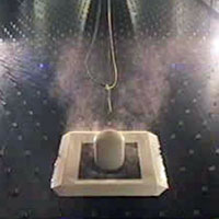 Fluid dynamics gas release